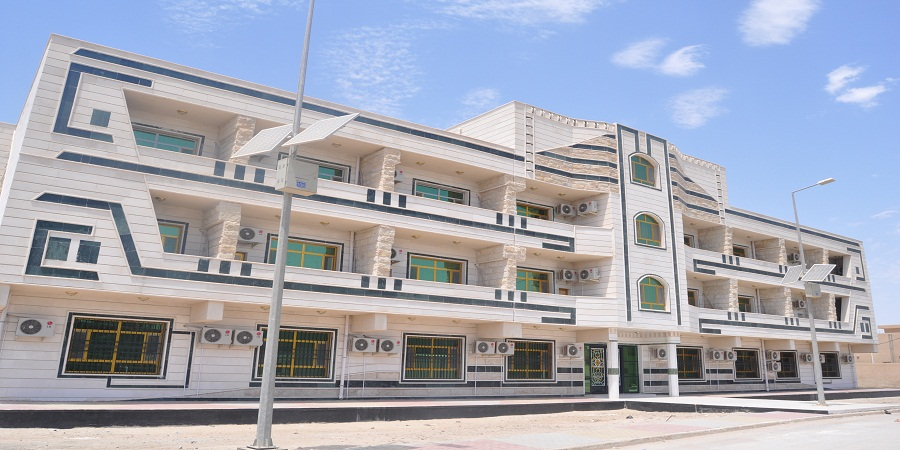 تشييد أكثر من ثلاثين شقة للأساتذة والتدريسيين في الجامعة
