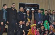كلية التربية للعلوم الإنسانية ...  تقدم عرضاً مسرحياً حسينياً ومهرجانها الشعري الثامن