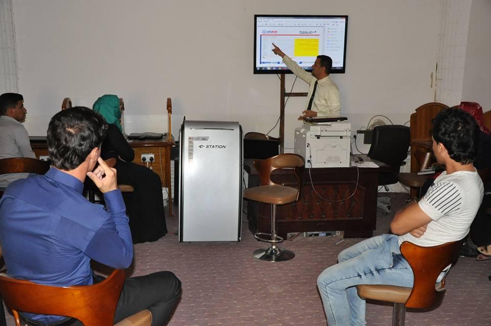 مديرية الأقسام الداخلية تقيم ندوة عن توجيه الطلبة نحو العمل الايجابي