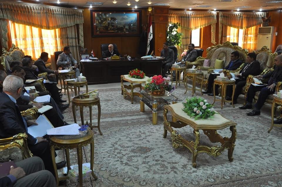 انعقاد مجلس جامعة المثنى لجلسته الاعتيادية الرابعة المفتوحة