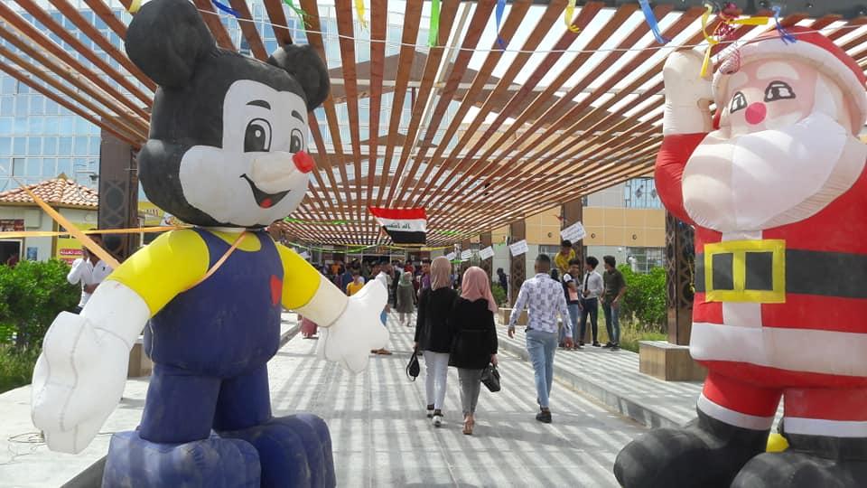 جامعة المثنى تحتفل بيومها السنوي 13