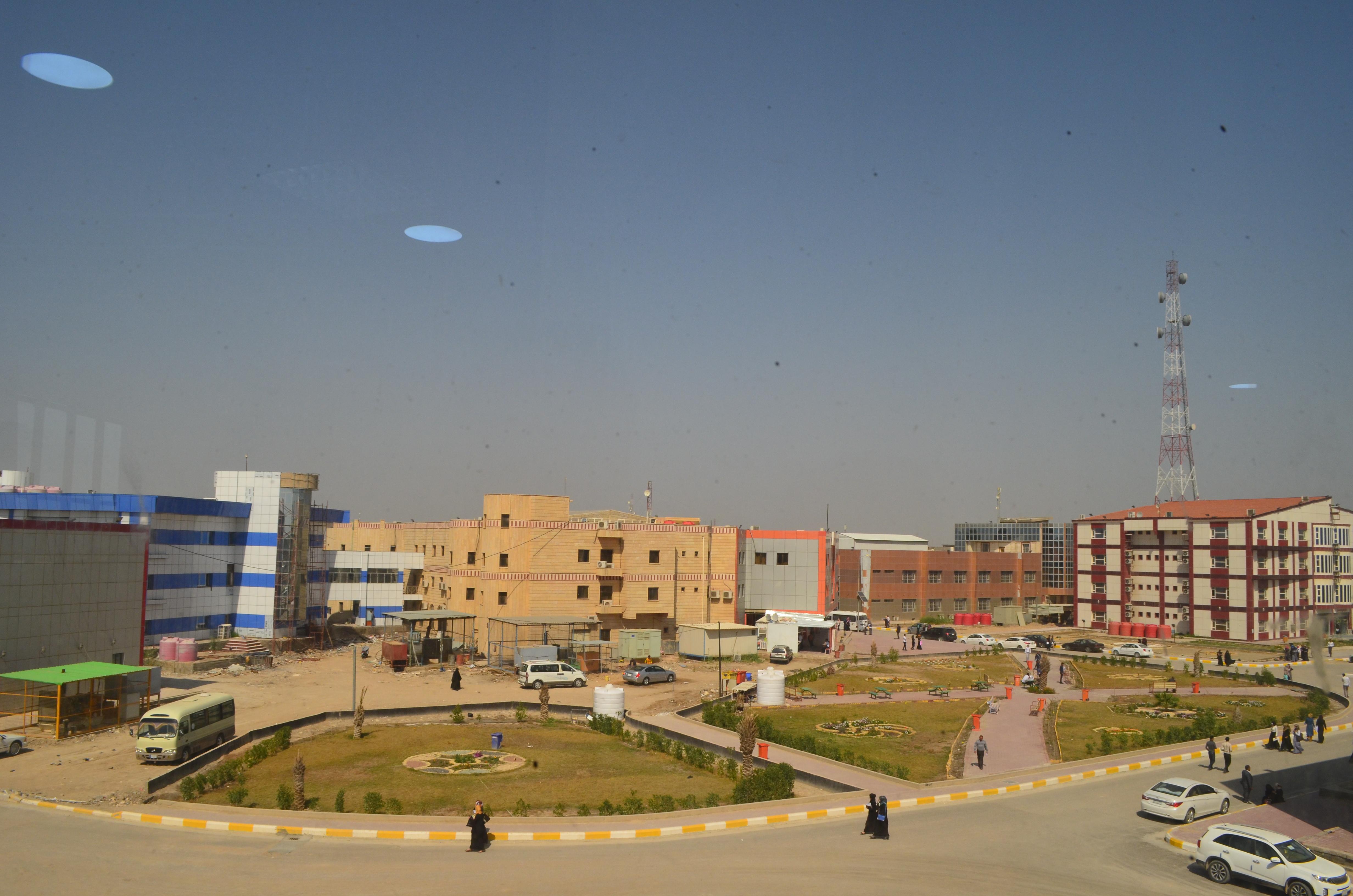 جامعة المثنى تستقبل العام الدراسي الجديد