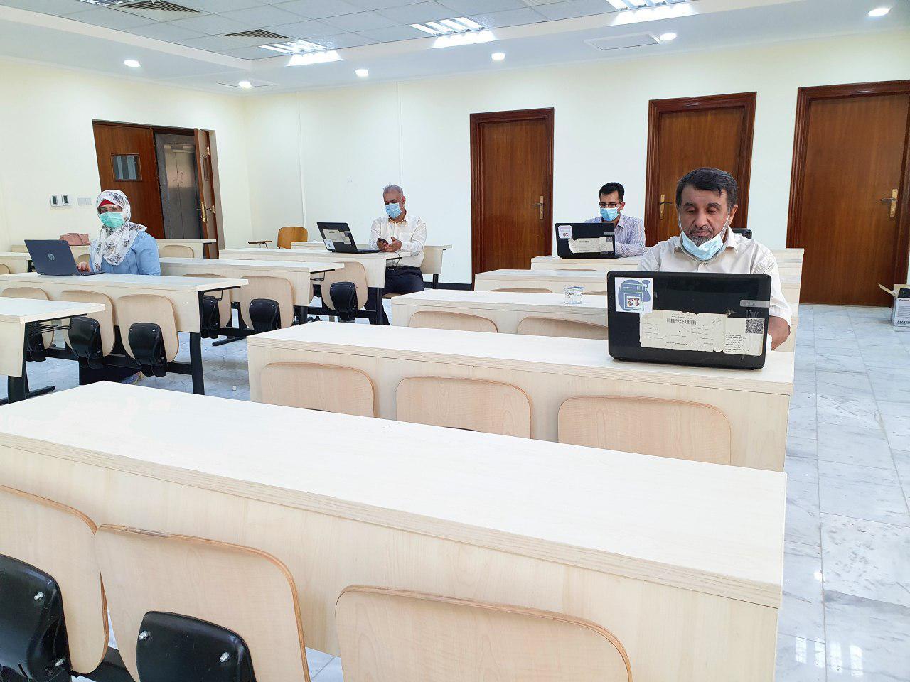 كلية التمريض تكمل الاختبارات التجريبية الافتراضية استعداداً للامتحانات النهائية