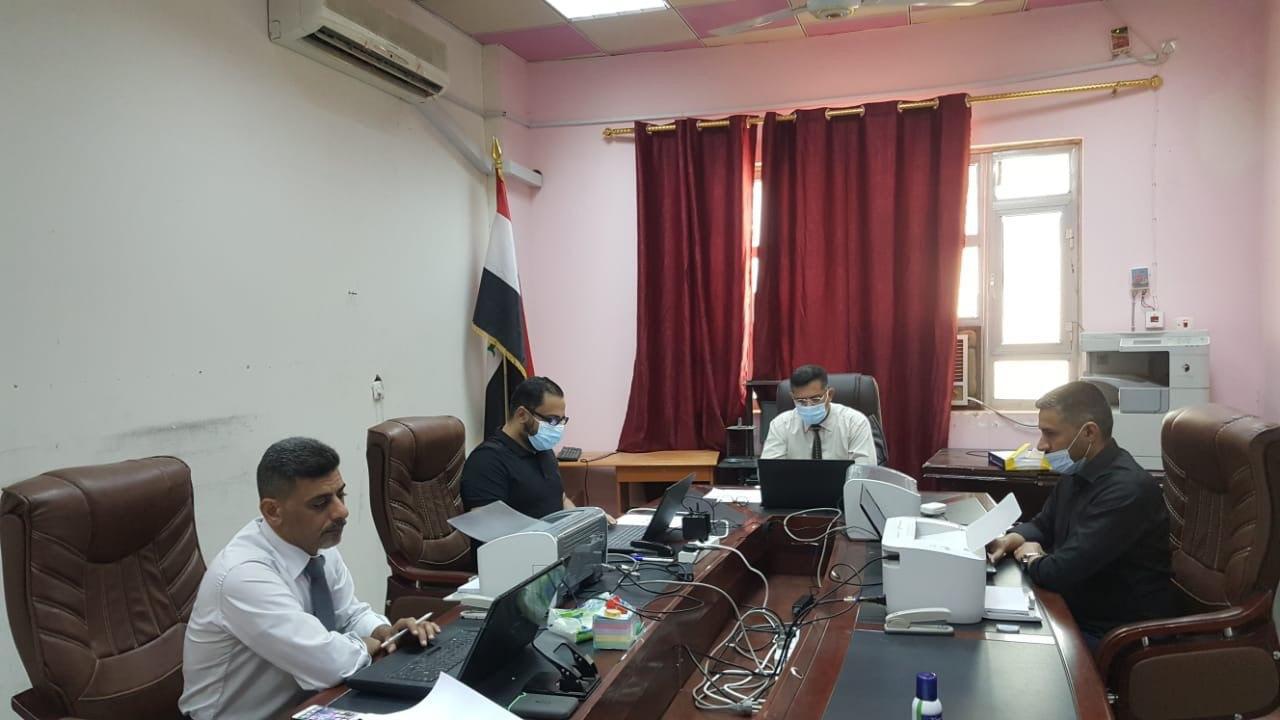 رئيس الجامعة يتابع سير الامتحانات النهائية للفصل الدراسي الأول