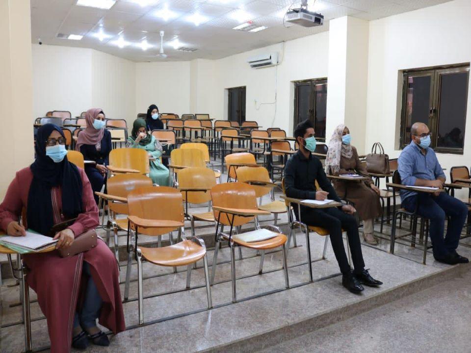 جامعة المثنى تستقبل طلبة الدراسات العليا