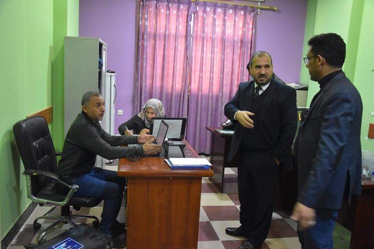 جامعة المثنى تستقبل فرق مفوضية الانتخابات الجوالة