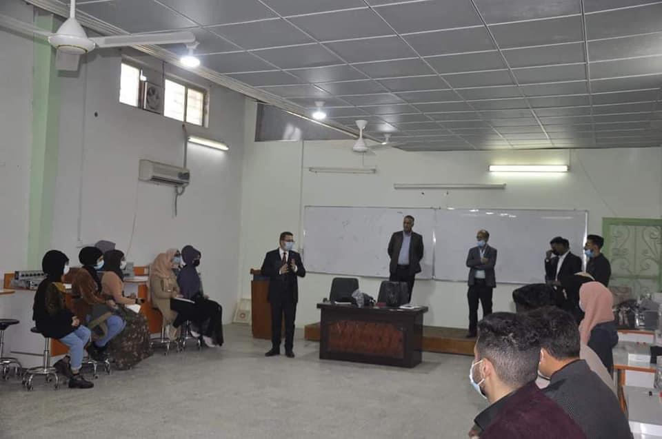جامعة المثنى تستقبل طلبة المراحل الأولى