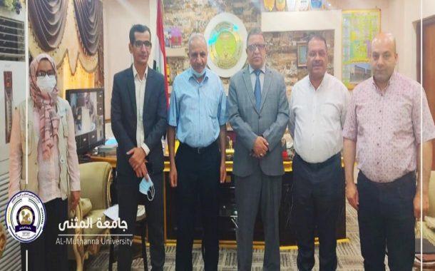 جامعة المثنى تواصل مع مديرية التربية تعميق آفاق التعاون