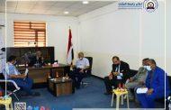 جامعة المثنى تتابع الامتحانات  في جامعات المحافظة الأهلية