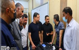 جامعة المثنى تواصل دعمها لمفوضية الانتخابات