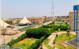 كليات جامعة المثنى تواصل تنفيذ مشروع المليون شجرة