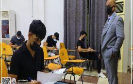 جامعة المثنى تواصل أجراء امتحانات الدور الثاني في كلياتها