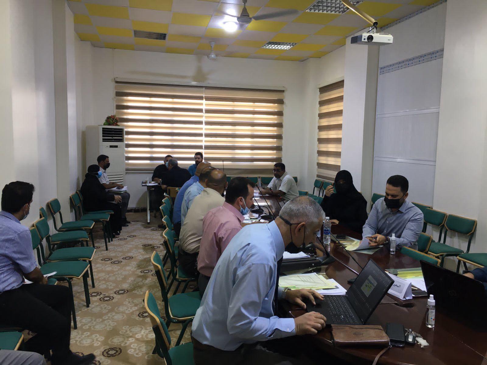 اكتمال أعمال اللجنة المختصة بالتصنيف العراقي في جامعة المثنى
